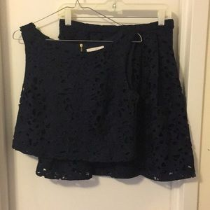 Jessica Simpson navy 2 piece dress, size 4